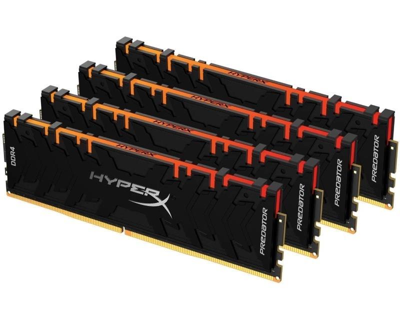 DIMM DDR4 128GB (4x32GB kit) 3600MHz HX436C18PB3AK4/128 XMP HyperX Predator